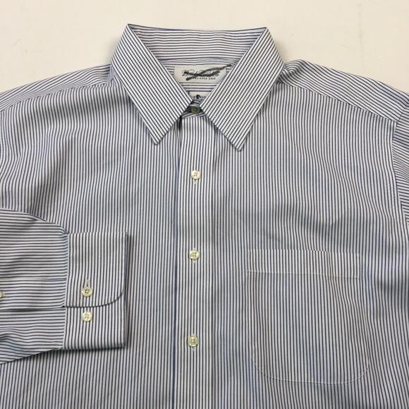 Brooks Brothers Mens Dress Shirt 16.5 32-33 C3003